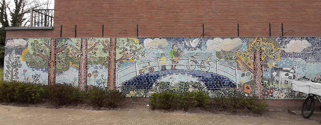 Street art Delft MOMents (2017) © Nan Deardorff-McClain © foto Wilma_Lankhorst