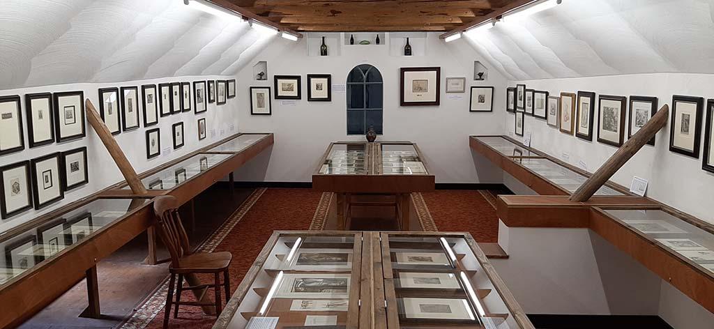 Je suis verbijsterd Museum Mohlmann_Prentenkabinet op zolder © foto Wilma_Lankhorst