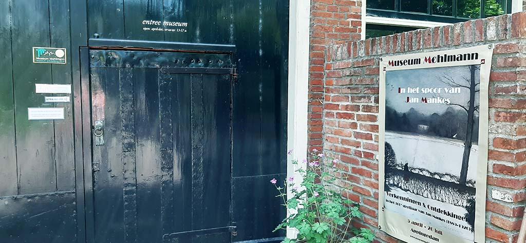 Je suis verbijsterd Museum_Mohlmann_gesloten deur © foto Wilma_Lankhorst