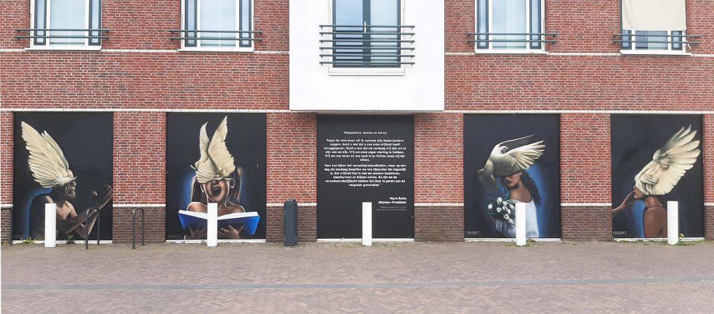 RoosArt Freedom (2020) 's Heerenberg © RoosArt © foto Wilma Lankhorst