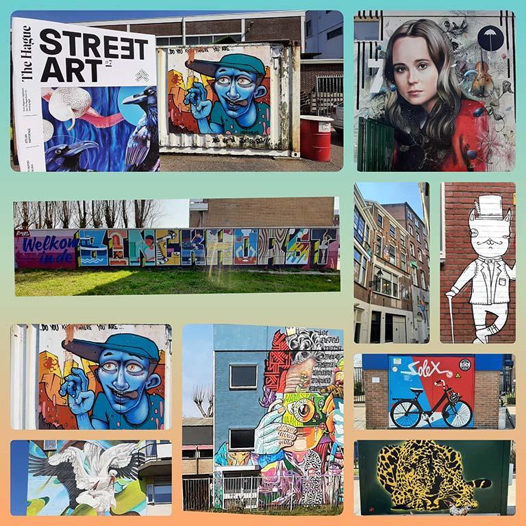 Den Haag Binkhorst street art 2021 © foto Wilma_Lankhorst