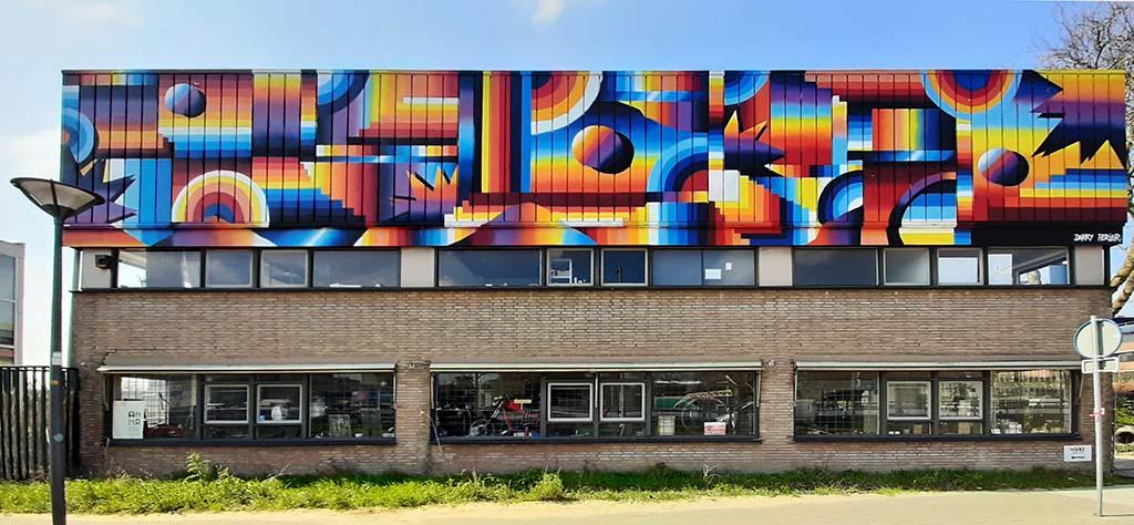 Den Haag Binckhorst retro eighties © Darry_Perrier © foto Wilma_Lankhorst