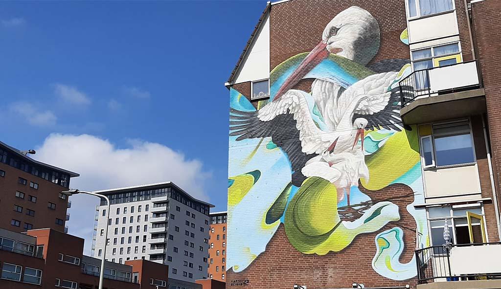 Den Haag Haags icoon aan de Goudriaanskade © Karski & Beyond © foto Wilma_Lankhorst
