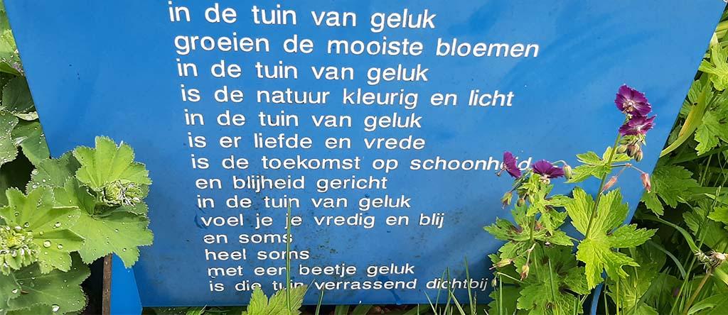 Gedicht_In de tuin van geluk © Greet_Jonk-Commandeur © foto Nic. Jonk Museum