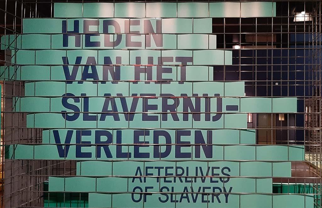 Slavernijverleden entree expo © foto Wilma_Lankhorst