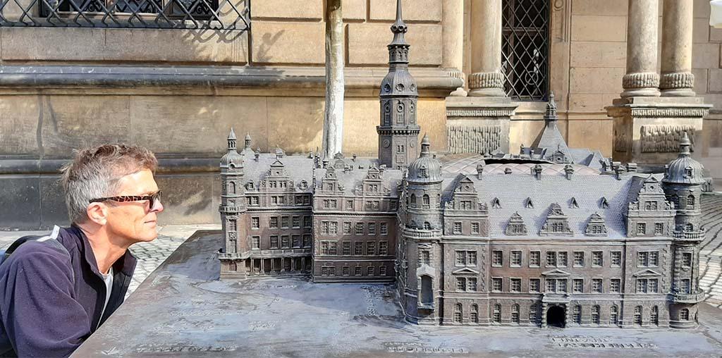 Dresden Residenzschloss miniatuur © foto Wilma_Lankhorst